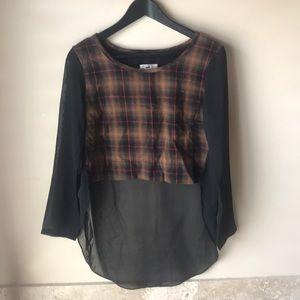 LF - never worn long sleeve crop top
